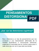 PENSAMIENTOS DISTORSIONADOS