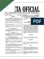 GO 41607 Decreto Nº 3.799 de Fecha 1º de Abril de 2019