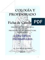 Psicologia y Profesorado I