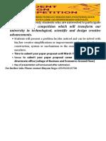 Advert for design JJU.docx