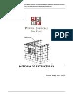 Memoria Descriptiva Estructuras Restauracion