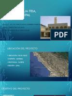 Sistema de Agua Fria, Palasio Municipal Cañete