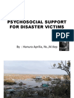 Social and Psychological Support for Disaster Victims HANURA