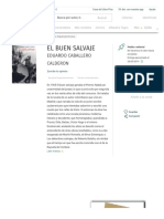 EL BUEN SALVAJE | EDUARDO CABALLERO CALDERON | Comprar libro 9788415374824