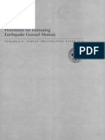 1980 Procedures for Estimating Earthquake Ground Motion HAYS