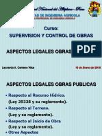 Aspectos Legales en Obras
