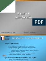 Tutorial CIO Light Introduccion
