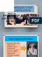 La Mirada y Sus Significados - Elvis Diaz Lopez
