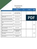 Matriz de Planificación de Cambio (transición ISO 9001)