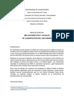 Mesa de diálogo- Biética y genoma humano