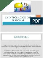 Integracion de personal