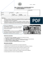 Pauta de Trabajo Lapbook 8 Basico