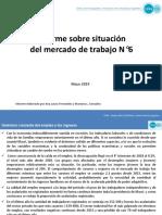 CIFRA Informe Mercado de Trabajo Nro6