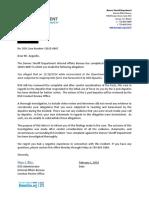 Isaiah Atencio Arguello Decline Letter