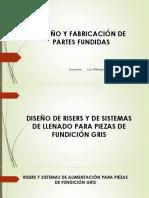 Diseño y Fabricación de Partes Fundidas de Fe Gris
