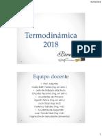 Termodinamica 2018 Primera Clase 40 Min