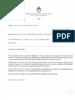 Informe Ministerio de Justicia y Derechos Humanos de La Nación