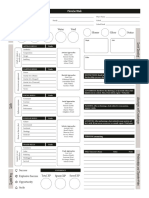 3.0 5th Ed Character Sheet