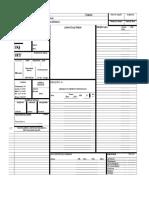 Ficha Gurps PDF