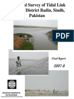 Ecological Survey of TidalLink Lakes Badin Sindh Pakistan