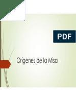 Orígenes de La Misa 20181110