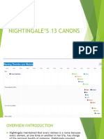 Nightingale's 13 canons