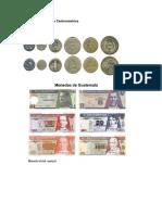 Monedas y Billetes de Centroamérica