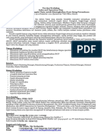 Brosur Sales & Operational Plan .