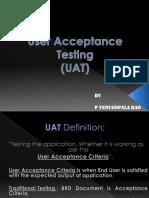 UAT Testing
