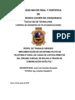 Perfil de Trabajo Dirigido Cardozo Trabajo Dirigido Organo Judicial