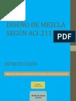 Diseño de Mezcla Según Aci 211 Con La 9