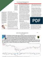 Lane Asset Management Stock Market Commentary November 2010