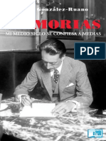Cesar Gonzalez-ruano - Memorias. Mi Medio Siglo Se Confiesa a Medias