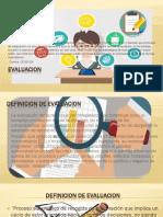 Diapositivas de Evaluacion