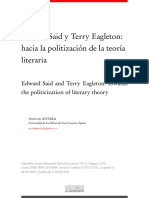 Said y terry Eagleton