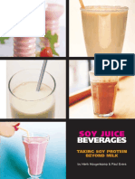 Soy Juice Beverages