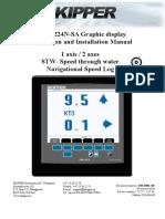 Skipper - EML224 Installation Manual