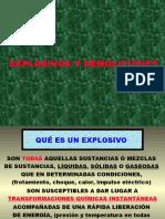 Explosivos y Demoliciones