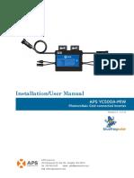 APS Installation UserManualYC500