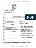 Deckers Outdoor v. Walmart - Complaint