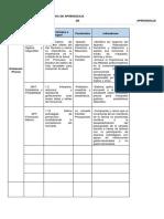 Organizacion de Las Unidades de Aprendizajes y Secciones Semi Presencial