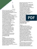 Fragmentos Del Cantar de Mio Cid