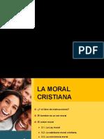 sintesis de moral cristiana
