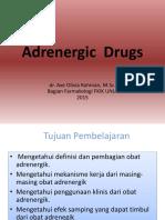 Adrenergic  Drugs 2015.pptx