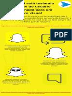 Snapchat está testando interface do usuário redesenhada para um novo visual