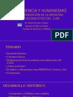 Etica, Ciencia y Humanismo (Clase Est Grls, 2018 Dr Perales)