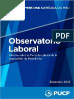 Mercado Laboral - Periodismo