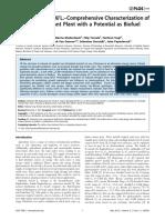 Euphorbia Tirucalli L.–Comprehensive Characterization Of