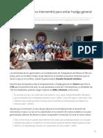 21-05-2019 Gobierno de Sonora intervendrá para evitar huelga general de la CTM-Tribuna