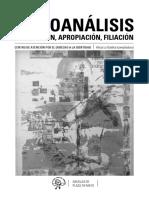 Psicoanalises - restituición, apropriación, filiación.pdf